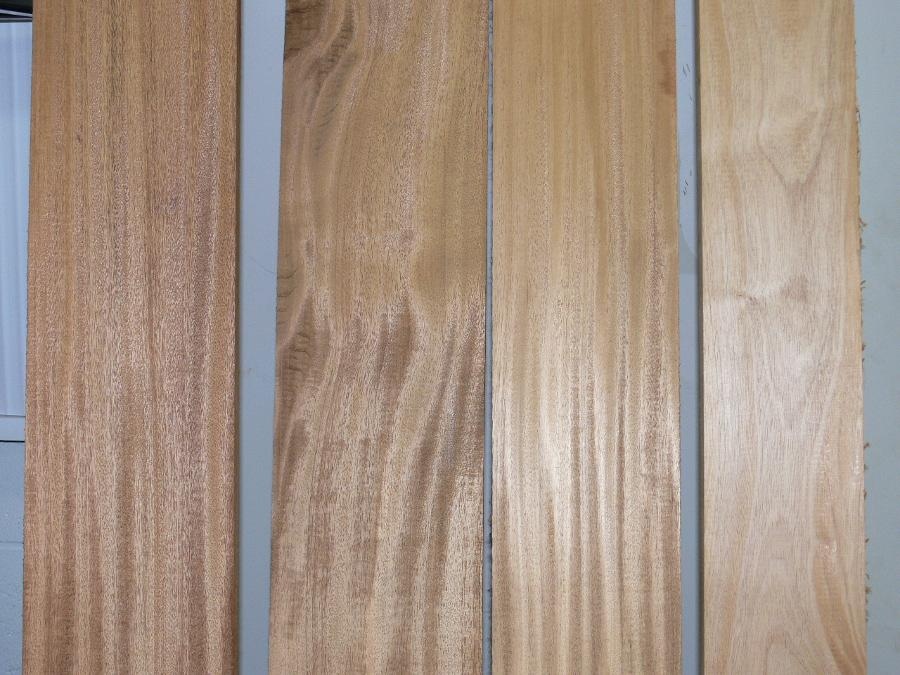 African Mahogany Lumber surfaced
