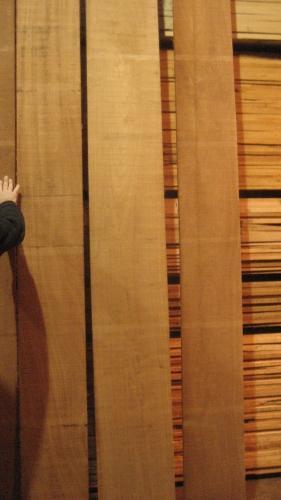 Select & Better African mahogany Lumber