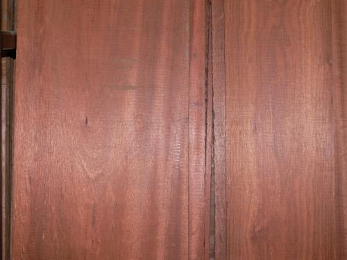Bloodwood Grain Close-Up