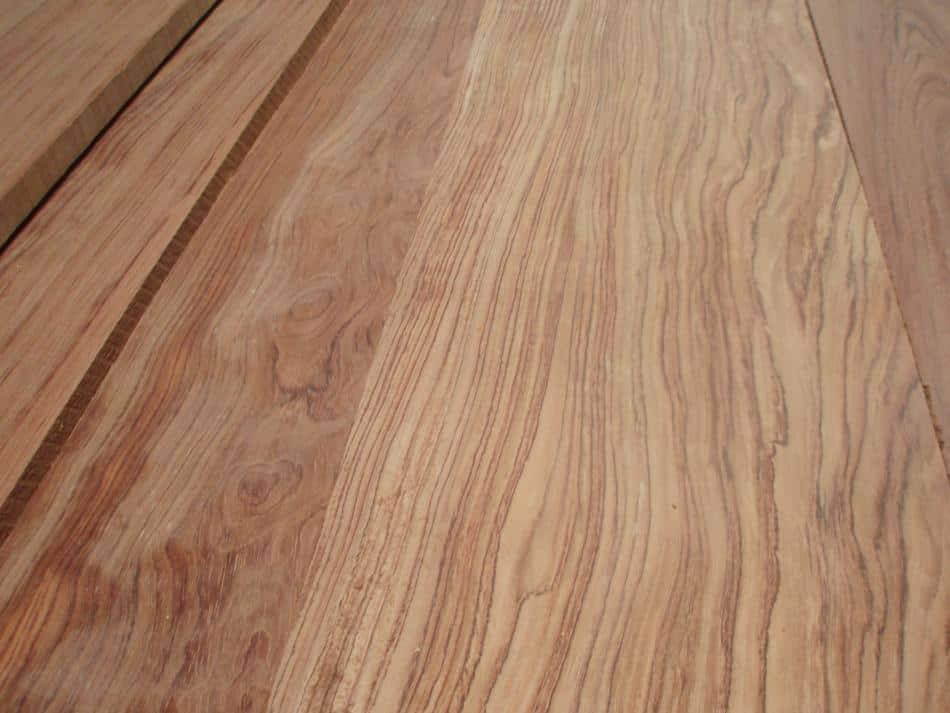 Quartersawn Bubinga Close Up
