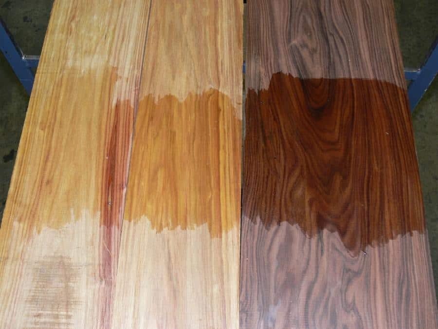 Canarywood Color Variation