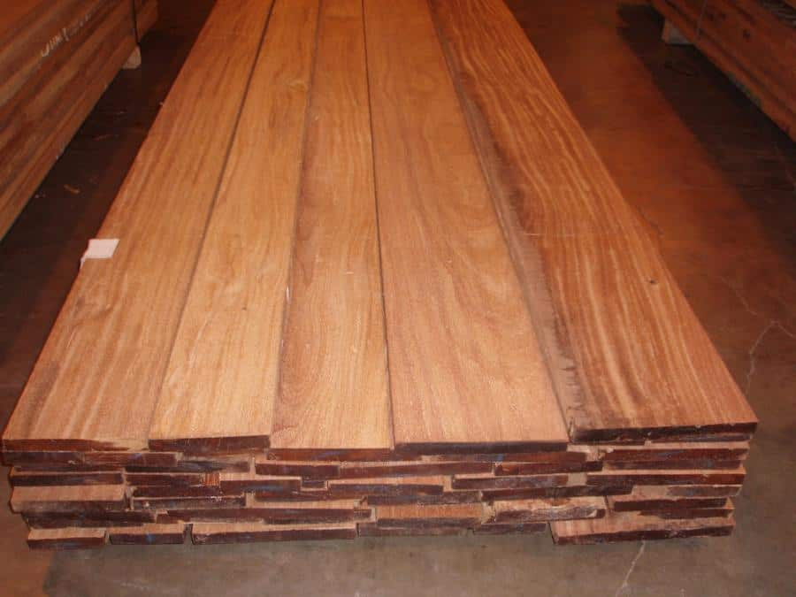 Cumaru Lumber Surfaced