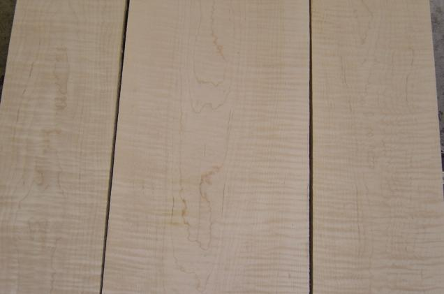 Curly Soft Maple Wood