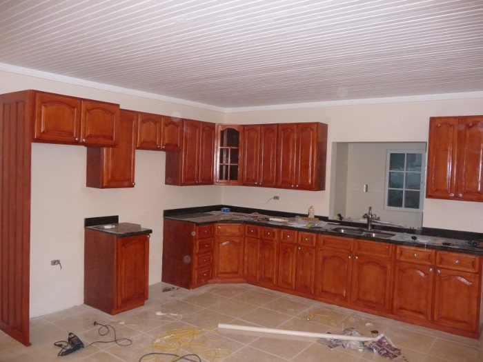 Hard Maple Kitchen Cabinets