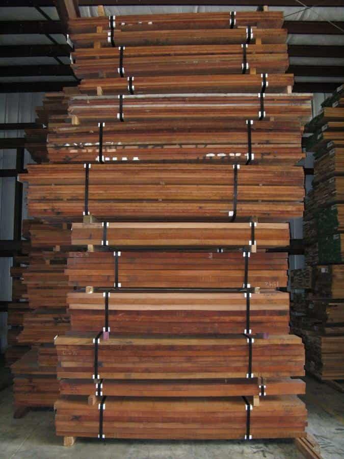 Jatoba Lumber Stack