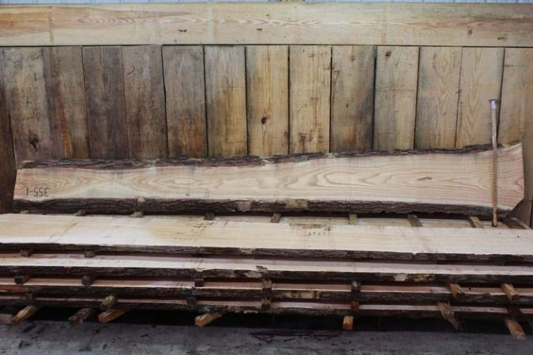 Slab 355-1, Rough Size: 2″ x 9″-18″ x 12′ $550