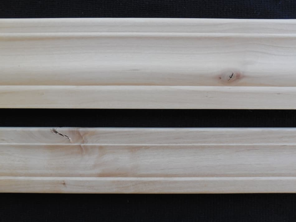 Knotty Alder Colonial Mouldings