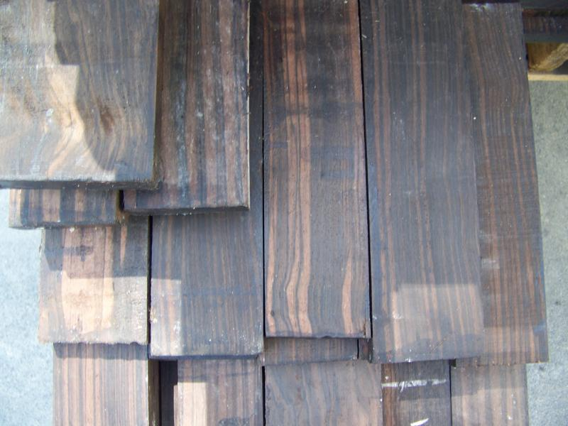 Macassar Ebony Available in 4/4 & 8/4
