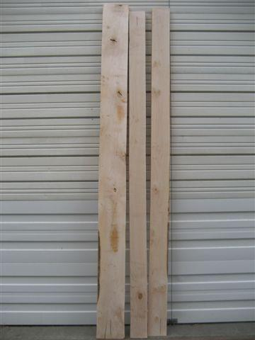 PC Maple 1 Shop Grade Lumber