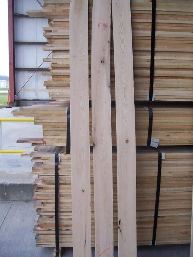 Red Oak Lumber #1 Common Grade