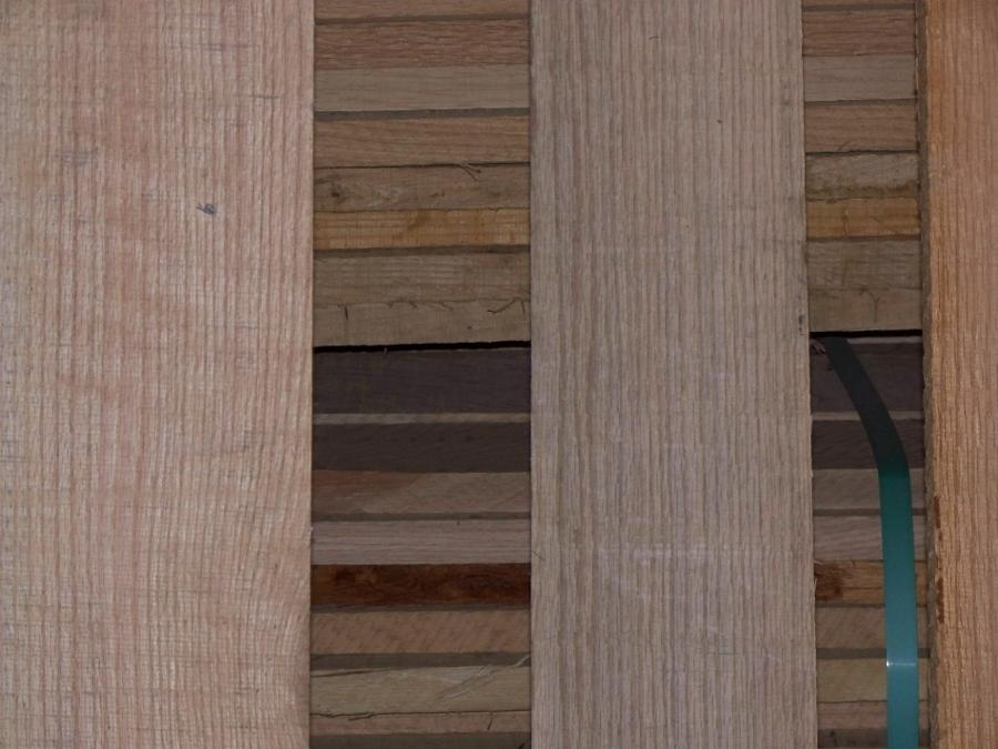 Quarter Sawn Red Oak Boards