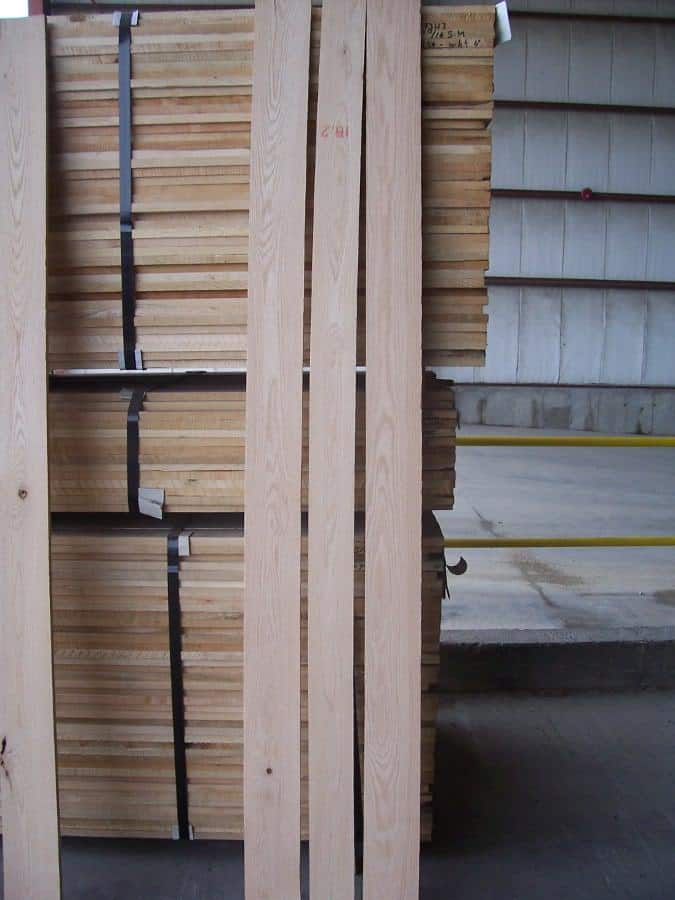 Select & Better Plain Sawn Red Oak Lumber