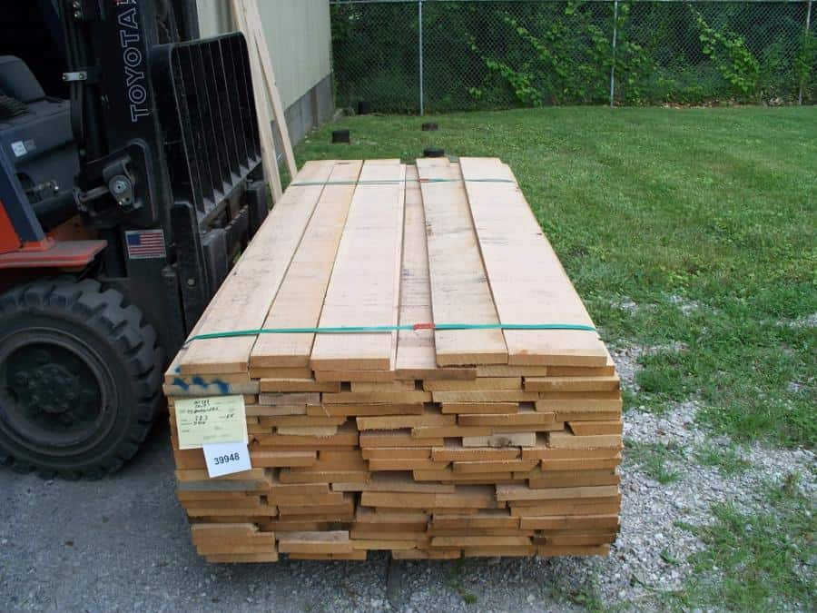 Full Unit or Red Oak Lumber