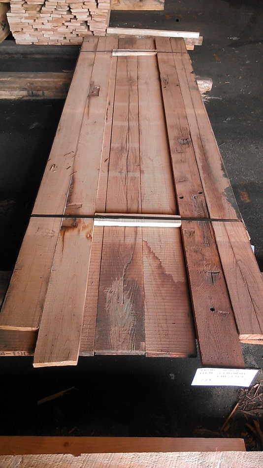 Reclaimed-Chestnut Boards