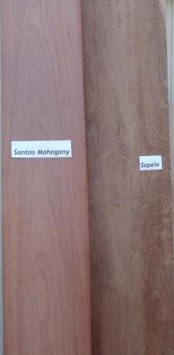Sapele vs. Santos Mahogany