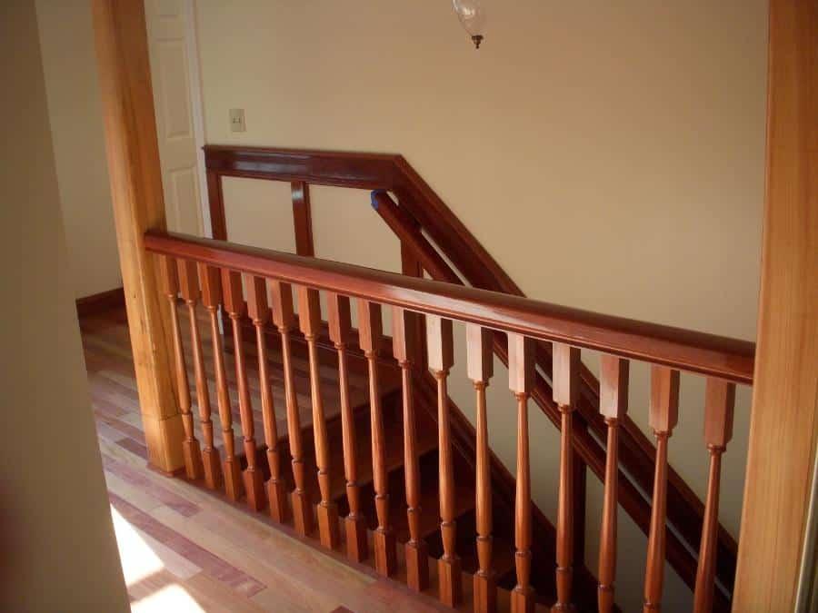 Santos Mahogany Stairs & Floor