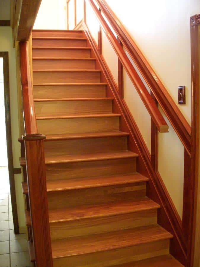 Santos Mahogany Stairs