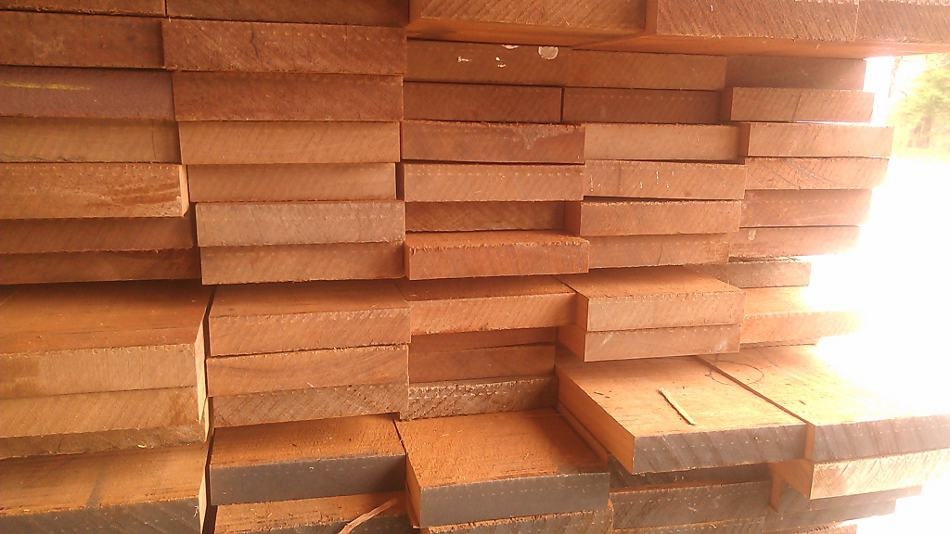 Ripped Sapele Flooring Blanks