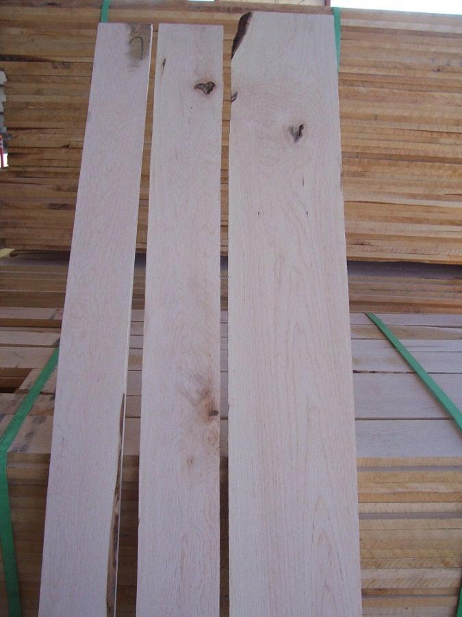 Select & Better Soft Maple Lumber Sap 1 Face