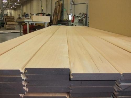 Spanish Cedar T&G Profile Top