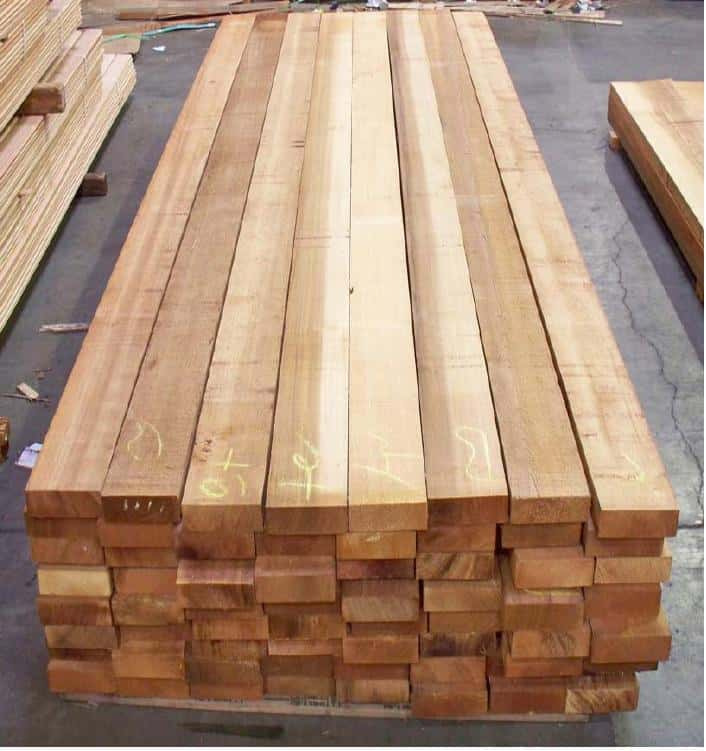 Vertical Grain Western Red Cedar Lumber