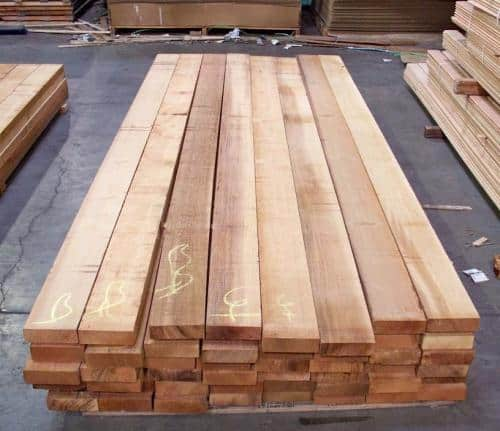 Vertical Grain Western Red Cedar Rough