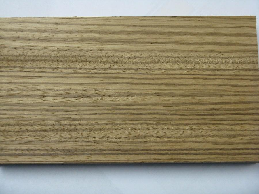Quarter Sawn Zebrawood Lumber Close Up