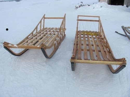 Hickory-tough enough for Alaskan Dog Sleds