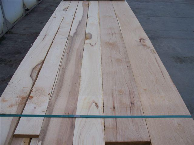 Rustic Grade Hickory Lumber