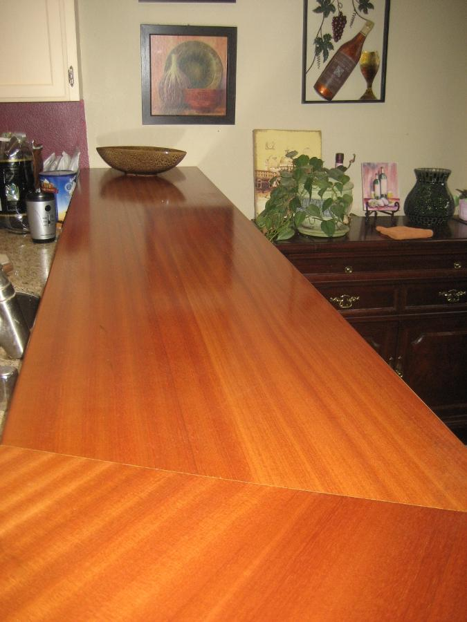 Sapele Counter top