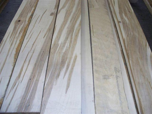 Wormy Soft Maple Lumber