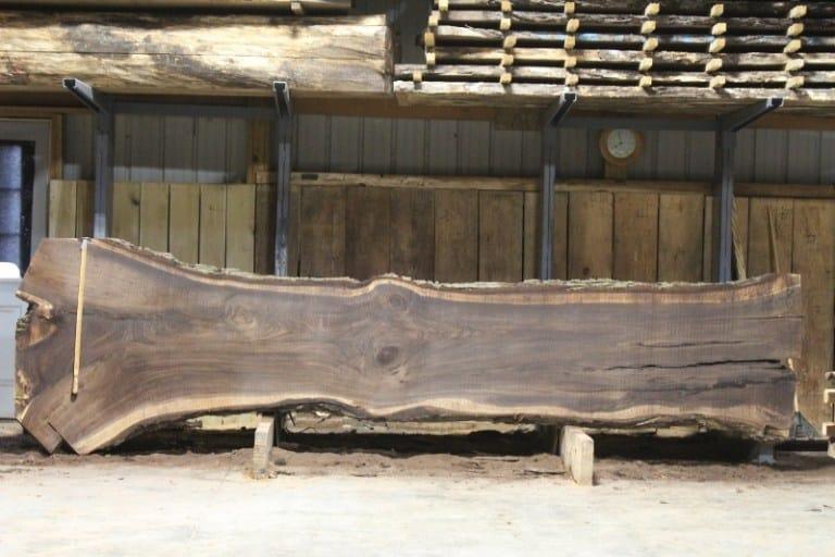 slab 623-8, rough size 2.5″ x 26″-49″ x 14′ $1650