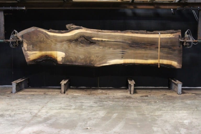 slab 703-2, rough size 2.5″ x 23″-37″ x 13′ $1375