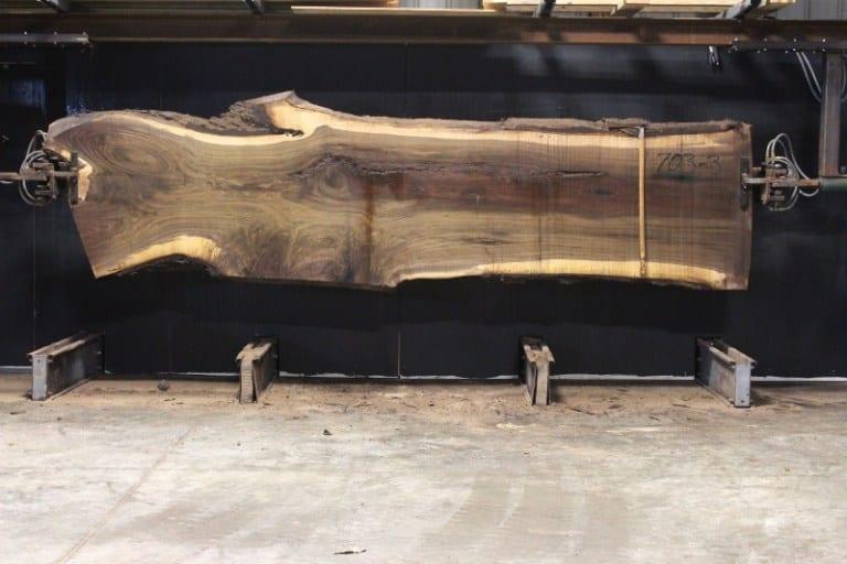 slab 703-3, rough size 2.5″ x 29″-43″ x 13′ $1375