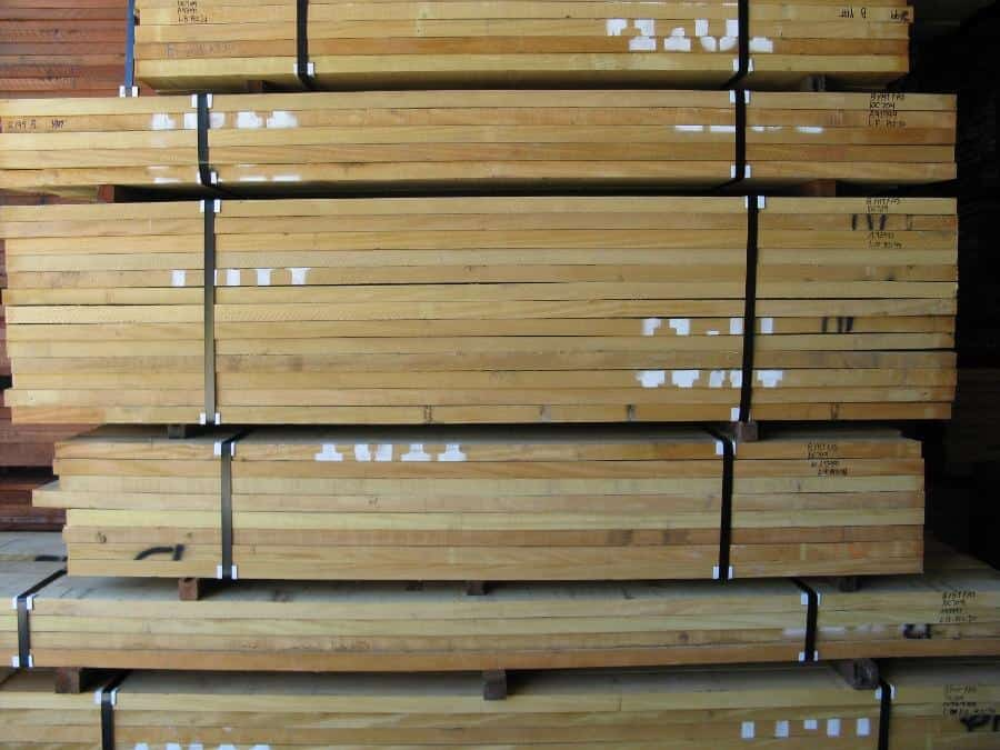 Full Units of Yellowheart Lumber