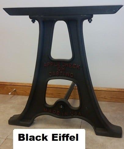 Eiffel Style Cast Aluminum Table Base