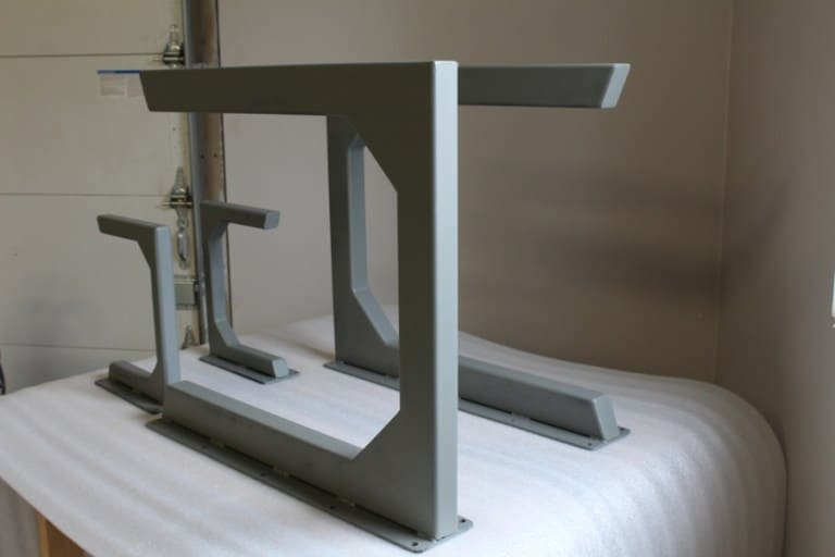 Napoli Steel Table and Bench Bases