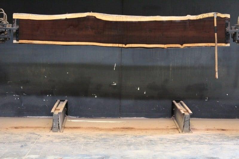 katalox 818-2, rough size 2″ x 15″-18″ x 117″ $850