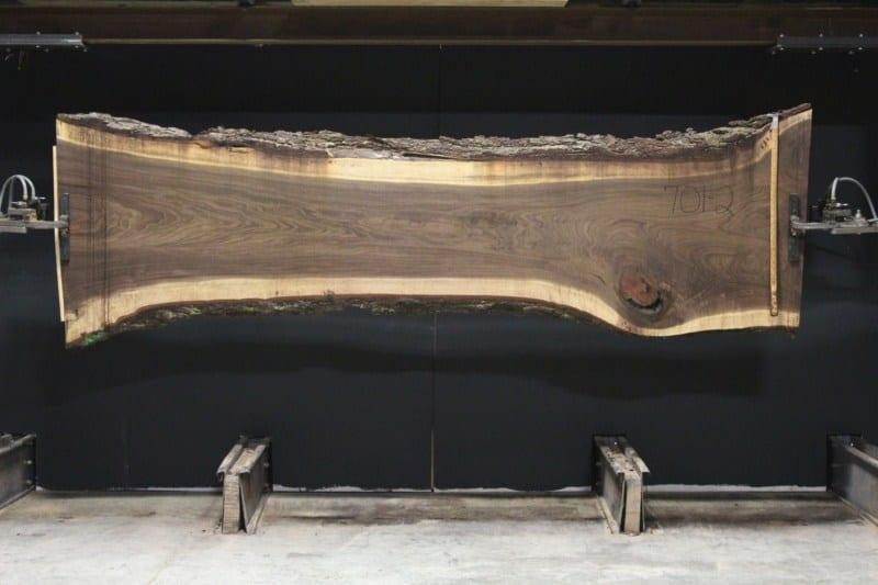 slab 701-2, rough size 2.5″ x 24″-35″ x 11′ $1225