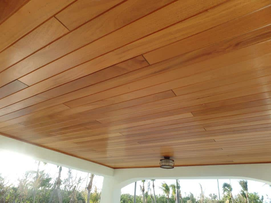 African Mahogany Ceiling Outside Wood Vendors