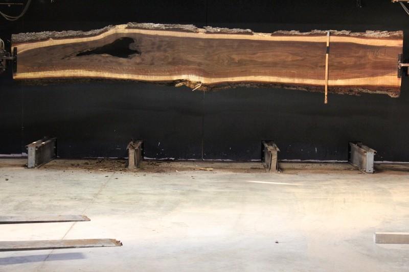 slab 748-1, rough size 2.5″ x 17″-24″ (avg. 23″) x 16′ $1200 SALE PENDING P.R. 7-7-19