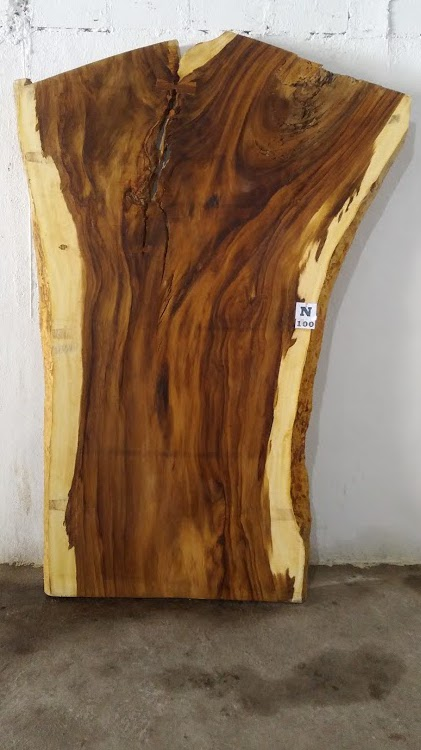 Slab N100, surfaced size 2.75″ x 77-51-50″ x  102″  $2400