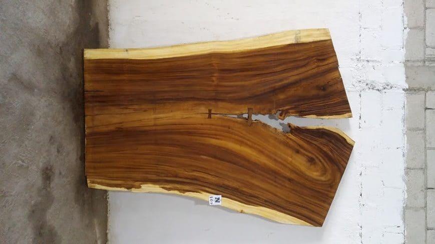 Slab N105, surfaced size 2.75″ x 82-66-57″ x  103″  $1970