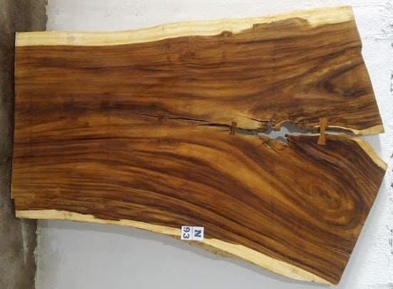 Slab N93, surfaced size 2.75″ x 82-65-57″ x  103″  $1960