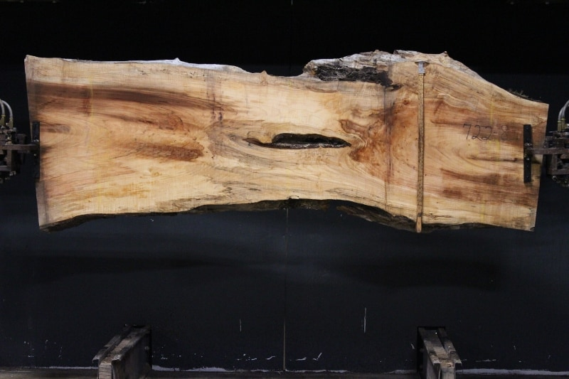 slab 722-8 rough size 2.5″ x 25-34″ avg. 28″ x 8′ $950