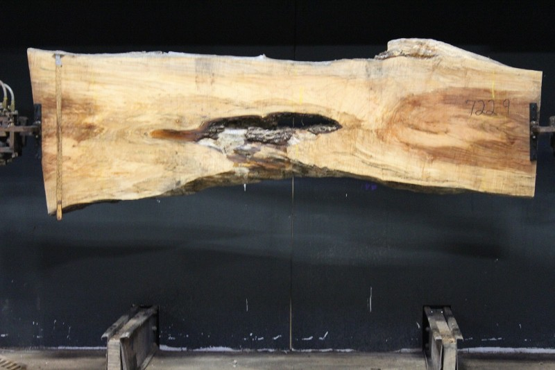 slab 722-9 rough size 2.5″ x 10-33″ avg. 22″ x 8′ $750