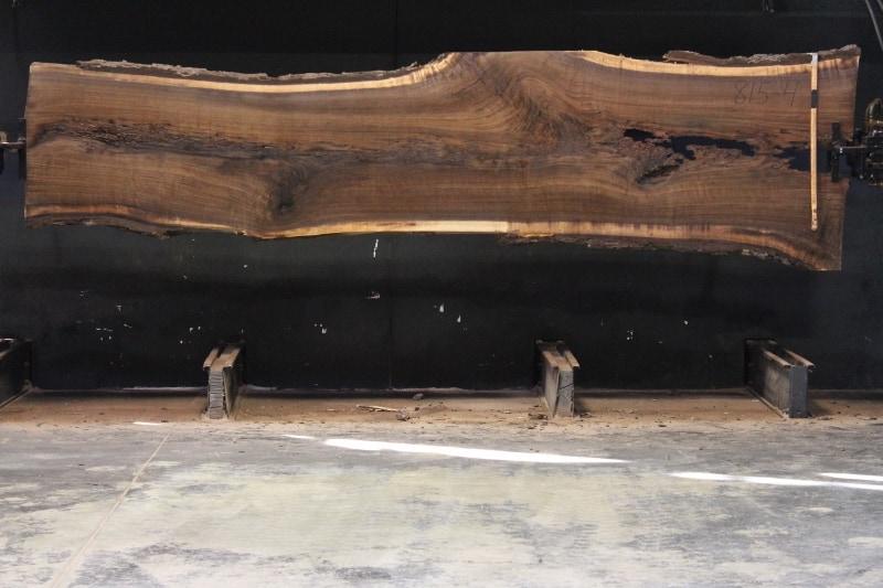 slab 815-4 rough size 2.5″ x 28-42″ avg. 32″ x 13′ $1050