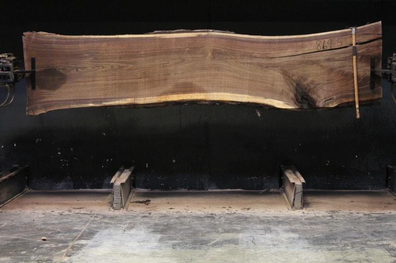slab 869-5 rough size 2.5″ x 26-31″ avg. 27″ x 11′ $1200