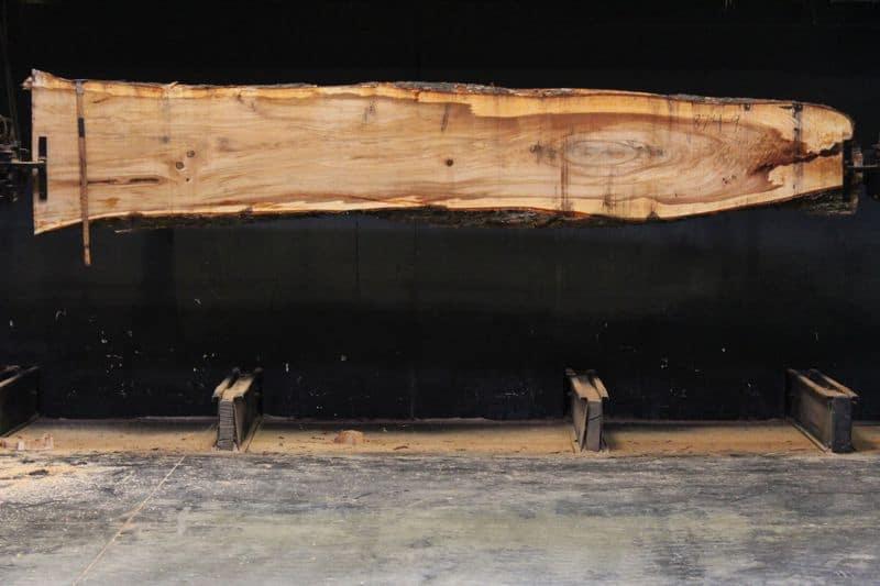 Elm Slab 874-9, rough size 2.25″ x 16-27″ avg. 22″ x  13′ $775