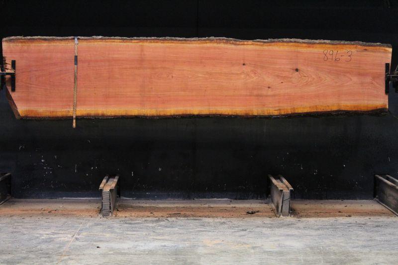 cherry slab 896-3 rough size 2.25″ x 25-30″ avg. 28″ x 12′